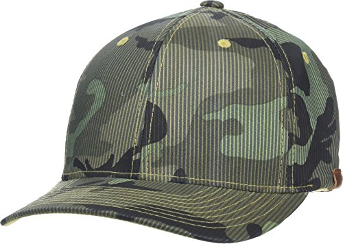 Kangol Men's Pattern Flexfit Baseball Cap, camo, S/M