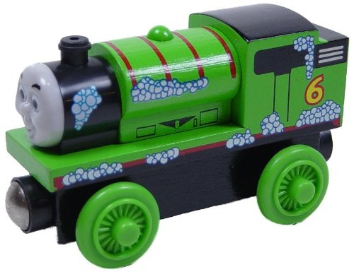 (Bubble Percy - Thomas & Friends Wooden Railway Tank Train Engine - Brand New Loose)