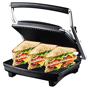 ZZ S677 Gourmet Grill Panini and Sandwich Press : Best Panini Maker I Have Ever Had