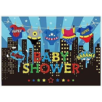 Amazon.com: Allenjoy - Fondo para baby shower de 7 x 5 pies ...