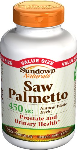 Sundown Naturals Palmetto Capsules Pack product image