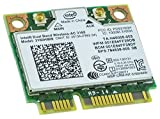 Intel 3160.HMWG.R Dual Band Wireless AC + Bluetooth Mini PCIe card Supports 2.4 and 5.8Ghz B/G/N/AC Bands with Mounting Screws