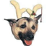 Dog Reindeer Antlers Costume Headpiece