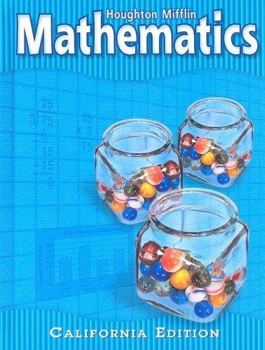 Mathematics, California Edition: Level 4 (Houghton Mifflin Mathmatics)