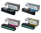 Samsung Part# CLT-K504S. CLT-C504S. CLT-M504S. CLT-Y504S Toner Cartridge Set (OEM)