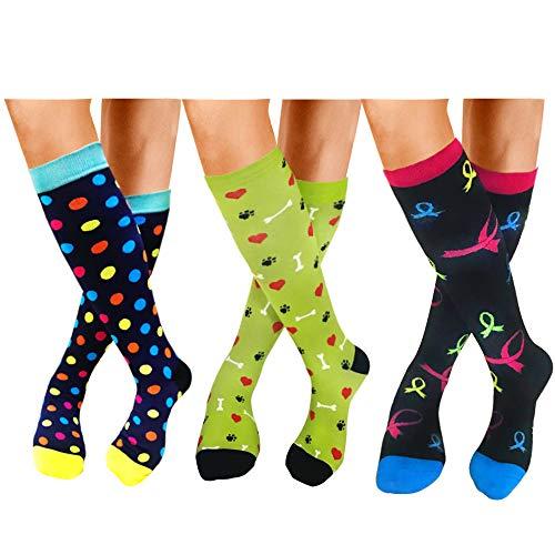 (Compression Socks For Women Men 20-25mmHg-Best Medical, Nursing, Travel & Flight Socks (S/M, STYLE5))