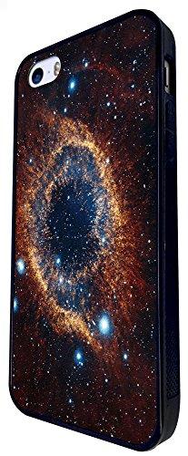 1110 - Cool Fun Universe Astronomy Galaxy Star Planets Black Hole Milky Way Design iphone SE - 2016 Coque Fashion Trend Case Coque Protection Cover plastique et métal - Noir