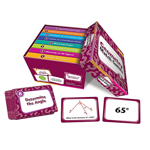 EAI Education Geometry Match Games: Grades 4-5 (Graphing Points On A Coordinate Plane Game)