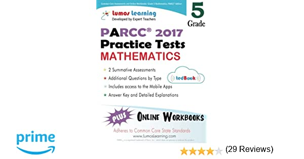 Common Core Assessments and Online Workbooks: Grade 5 Mathematics ...