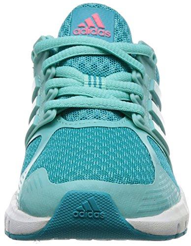 adidas Duramo 8 K, Zapatillas de Deporte Unisex Niños Azul (Azuene / Aquene / Supros)