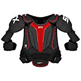 STX Ice Hockey HP SPH0 JR 02 BK/RD Stallion HPR Junior Shoulder Pad, Medium, Black/Red