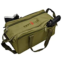 Explorer Tactical R5 Range Shooting, Patrol and Duty Bag, OD Green, 17 x 8 x 9-Inch