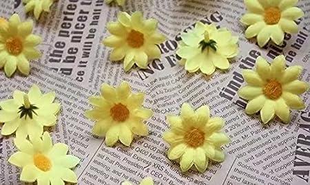 Approx 100pcs artificial gerbera daisy silk flowers heads for diy approx 100pcs artificial gerbera daisy silk flowers heads for diy wedding party mightylinksfo