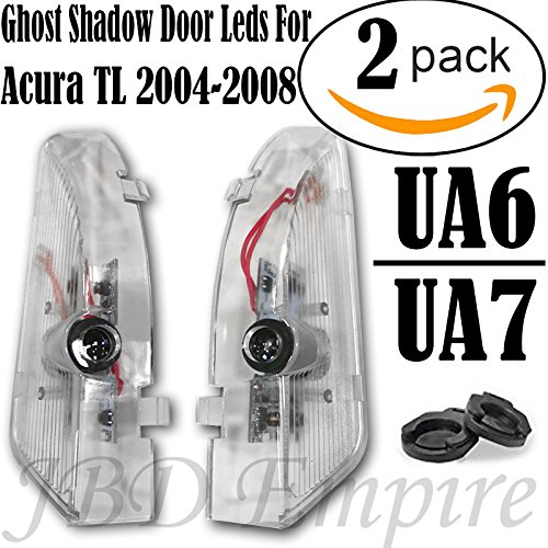 (Ghost Shadow LED Projector Lights Door Logo Laser for Acura TL 2004-2008 UA6)