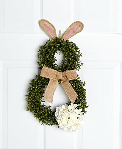 The Lakeside Collection Cottontail Bunny Wreath