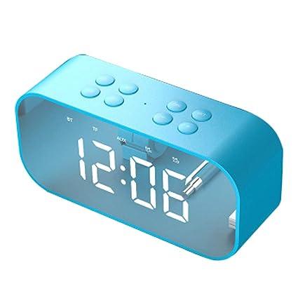 Amazon.com: HAHAP Digital Alarm Clock with Wireless ...