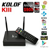 KOLOF KIII Amlogic S905 OTT TV Box Android 5.1 KODI 16.1 Quad Core 2G RAM 16G ROM