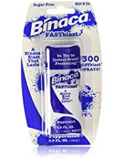 Binaca Fastblast Breath Spray Peppermint-0.5 fl. oz. (6 Pack)