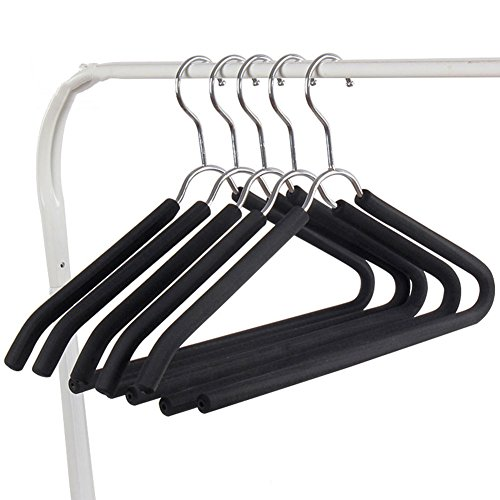 LIANGJUN Clothes Hangers Coat Pants Stainless Steel Non-slip