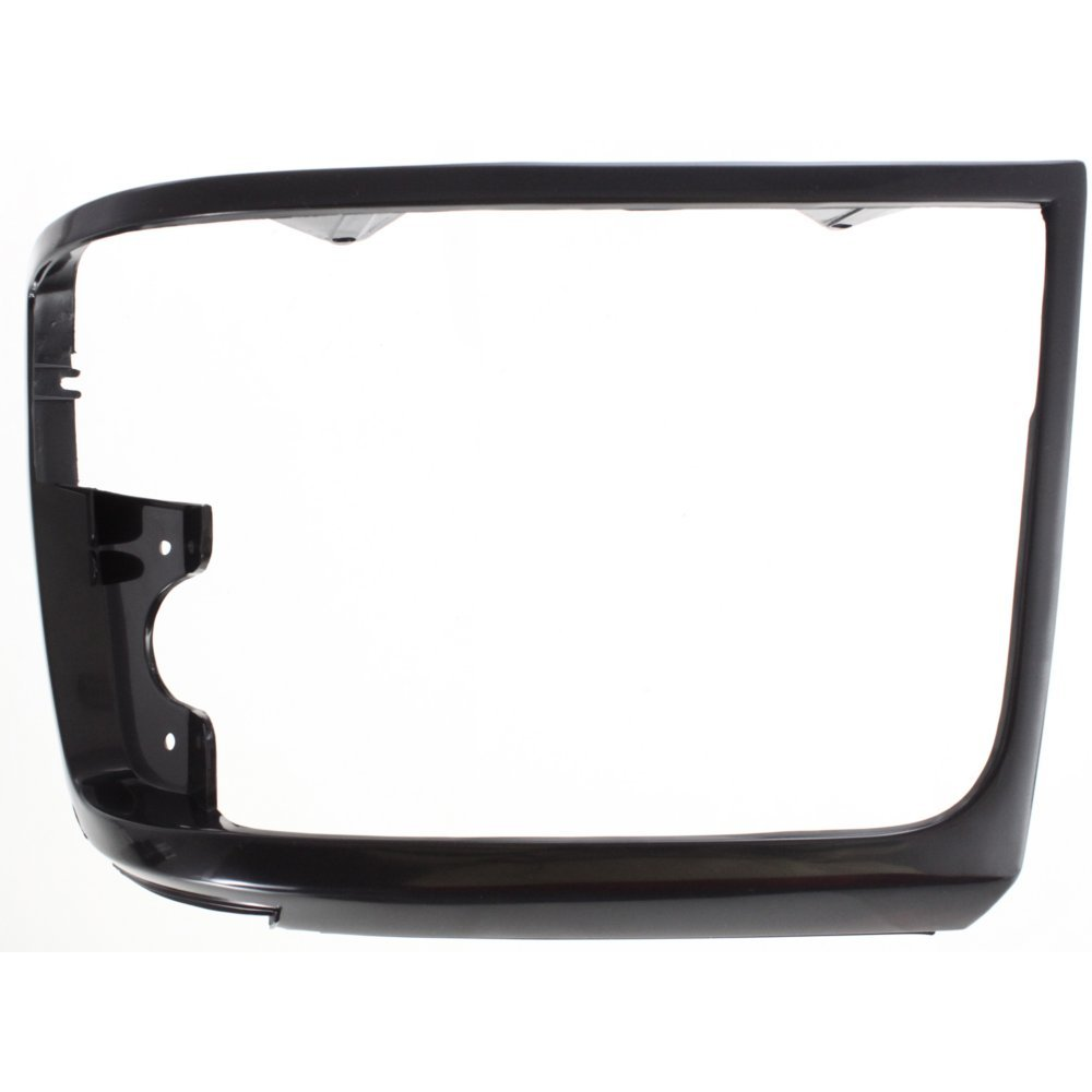Evan-Fischer EVA18972011243 Headlight Door for Ford F-Series 92-97 LH Black Left Side 4333012539