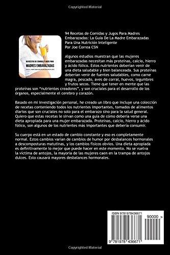 94 Recetas de Comidas y Jugos Para Madres Embarazadas: La Guía De ...