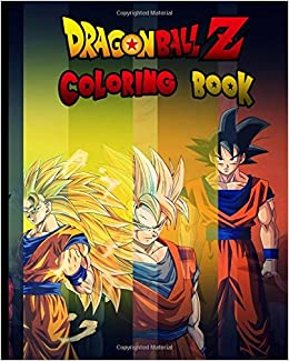 Dragon Ball Z: Coloring Book for Kids and Adults: Amazon.de: Donna ...
