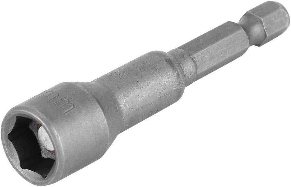 Juego de 10 destornilladores magn/éticos de acero inoxidable con juego de llaves de vaso de impacto
