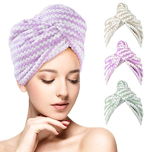 Hair Towel Wrap Turban
