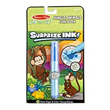 Melissa & Doug On the Go Surprize Ink! Game Book - Jungle Animals (24 Pages)