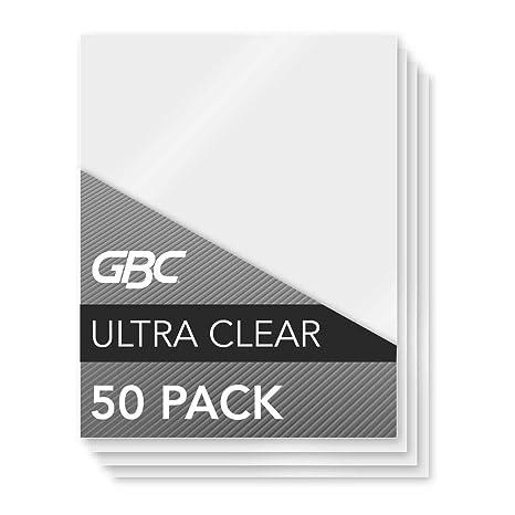Amazon.com: Swingline GBC Carteras plastificación UltraClear ...