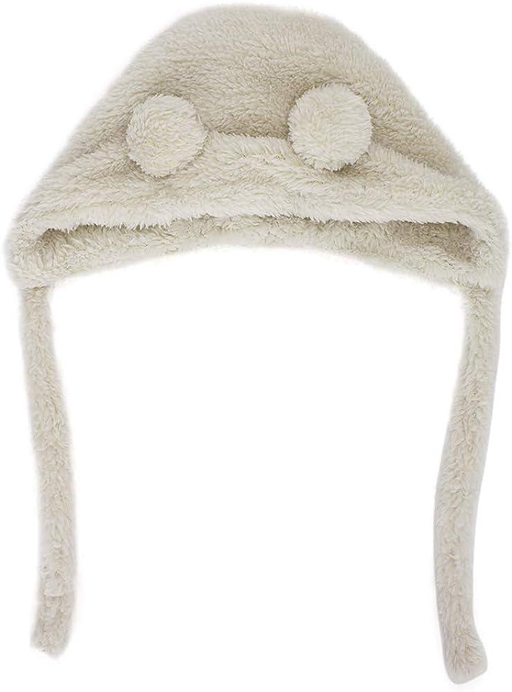MK MATT KEELY/® Lindo forro polar unisex para beb/és con orejas de invierno c/álido gorro para ni/ños de 0 a 15 meses