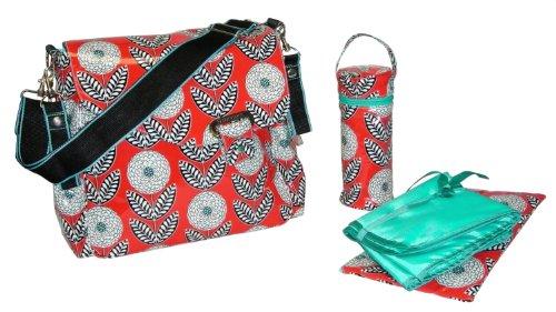 Kalencom Fashion Coated Zinnia - Bolso cambiador con accesorios