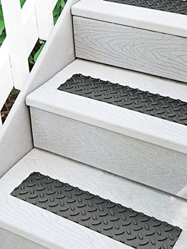 Attrayant 17u0026quot; Self Adhesive Rubber Non Slip Stair Treads   Set Of ...