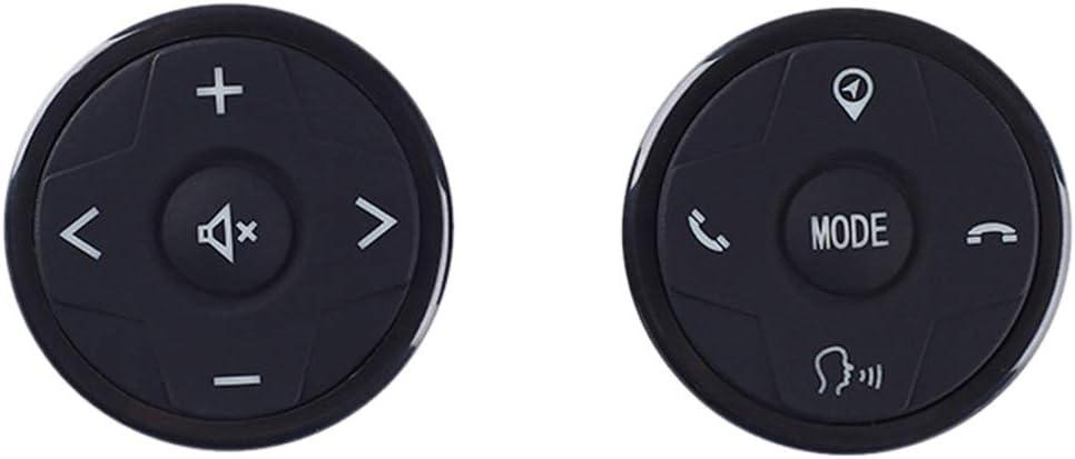 Kongnijiwa Universal-Auto-Lenkrad-Fernbedienung Panel 10 Tasten Musik Wireless-DVD GPS Navigations-Radio-Buttons