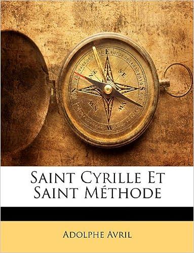 Book Saint Cyrille Et Saint Méthode