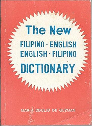 New English-Filipino Filipino-English Dictionary: Maria