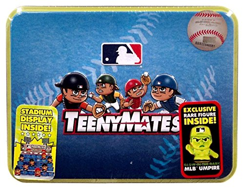 Party Animal Toys MLB All Team Teeny Mate Series 3 Collectors Tin, Black, Small