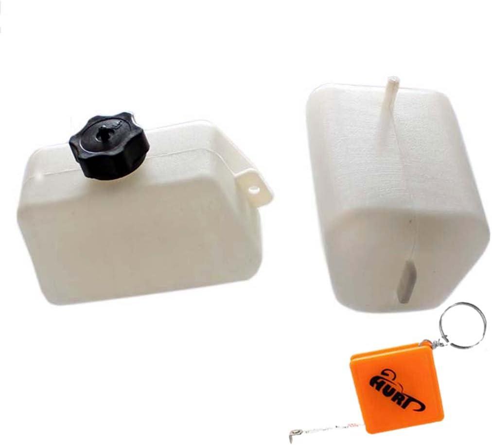 gasolio carburante per minimoto cinesi per bambini a 2/tempi Stoneder 49/cc 47/cc serbatoio in plastica bianca per benzina