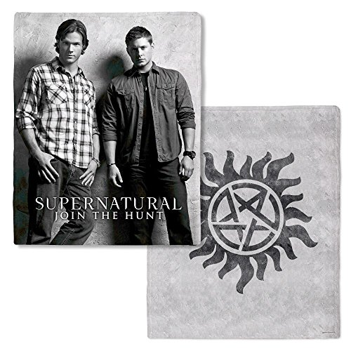 sam and dean winchester blanket - 3