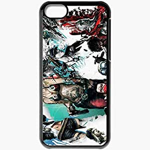Personalized iPhone 5C Cell phone Case/Cover Skin All Points Bulletin Black