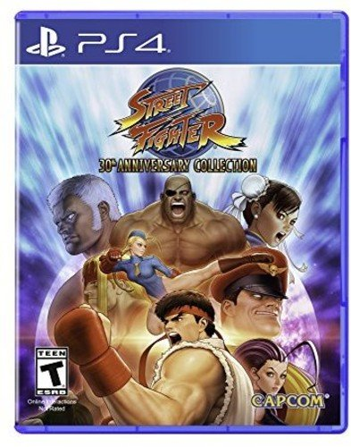 Street Fighter 30Th Anniversary Collection   Playstation 4 Standard Edition