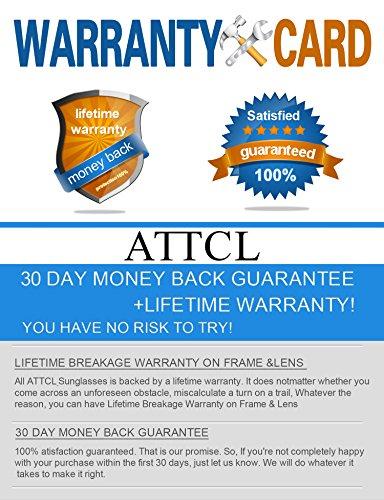 De ATTCL Jaune Homme Polarisé Soleil Rectangulaire Lunettes UV400 Protection qtzS7wz