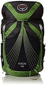 Osprey Packs Exos 48 Backpack (2017 Model), Basalt Black, Small