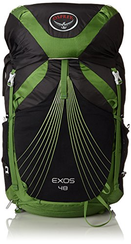 Osprey Packs Exos 48 Backpack (2017 Model), Basalt Black, Large