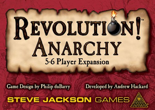 Steve Jackson Games Revolution Anarchy Board Game]()
