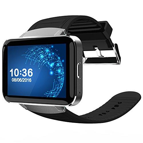 Reloj inteligente de pulsera Bluetooth DM98 3G MTK6572, para Android, doble núcleo, Wi-Fi, mapas GPS con cámara