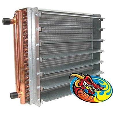 70,000 BTU Unit Heater Water to Air Heat Exchanger - Dragon Breath Space Heater