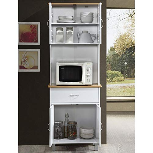 Pemberly Row Kitchen Cabinet in White by Pemberly Row (Image #2)