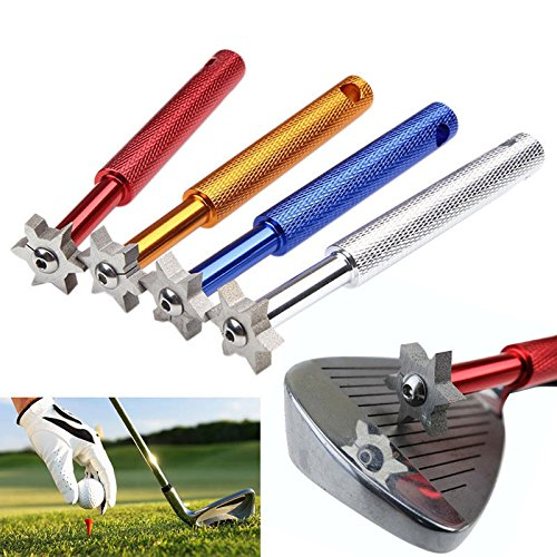 6 Balade Golf Iron & Wedge Club Face Groove Tool Sharpener Cleaner by energi8_zae