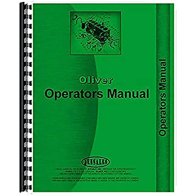 New Oliver 1095 Row Crop Cultivator 2 Row Operator's Manual